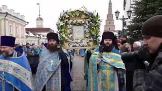 Крестный ход с чудотворным образом Пресвятой Богородицы