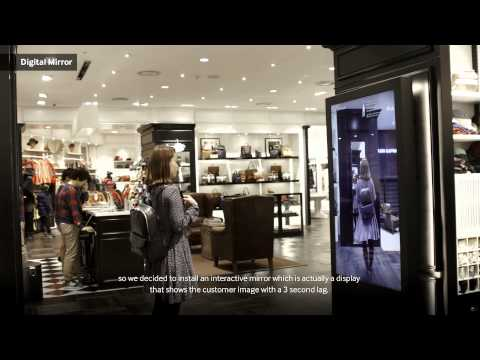 Samsung SMART Signage Case Study: BEANPOLE Fashion Retailer