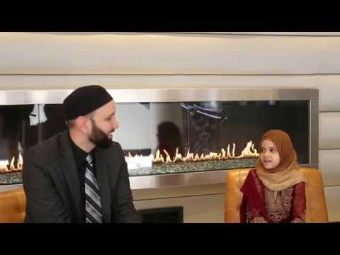 A beautiful conversation between Maryam and her beloved Sh. Omar Suleiman