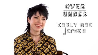 Carly Rae Jepsen Rates Weddings, Weed Cookies and More | Over/Under