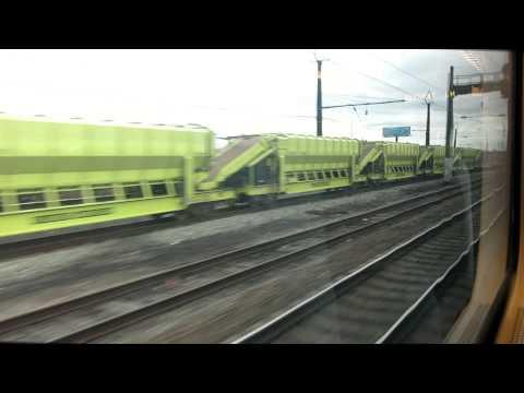 NJT train ride from Newark Liberty International Airport, NJ to Penn Station, NY