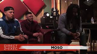 Moso Performs at Direct 2 Exec Los Angeles 4/18/18 -  Warner Music Group