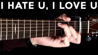 I Hate You, I Love You - Gnash ft Olivia O'Brien (Fingerstyle Guitar Cover by Albert Gyorfi) [+TABS]