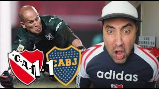 INDEPENDIENTE 1 - 1 BOCA | Reacción de un Hincha | Copa de la Liga 2021