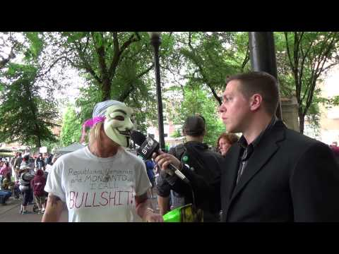 BREAKING THE CONDITIONING NEWS march against monsanto 2014 Portland