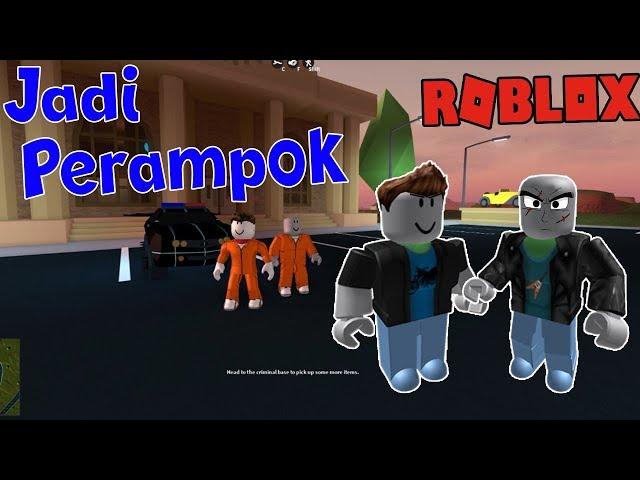 Kakak Adik JADI PERAMPOK - ROBLOX JAILBREAK #1