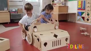 Spiel-Mobil - Auto, Schiff oder Flugzeug - verwandelbares Rollenspiel