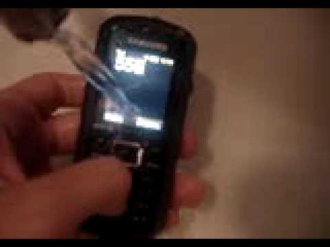 Samsung B2100 помывка