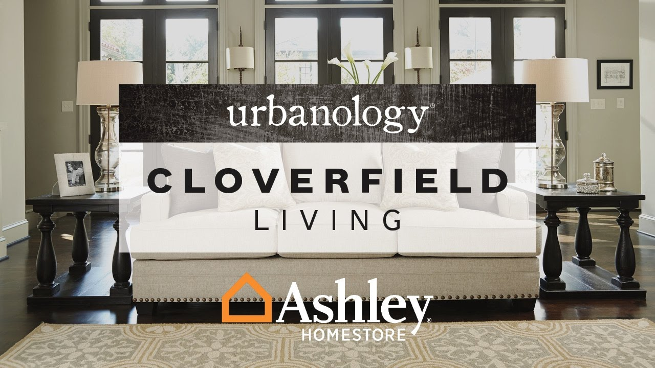Ashley Homestore Cloverfield Living Room Youtube