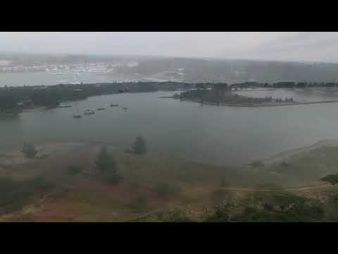 Drone view of richards bay