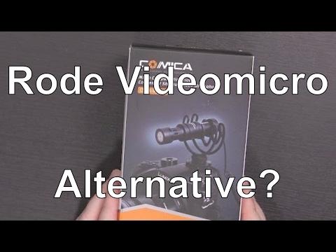 Comica CVM-VM10 Non-Powered On-Camera Microphone