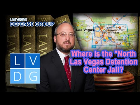 "Where is the ""North Las Vegas Detention Center"" jail in Nevada?"