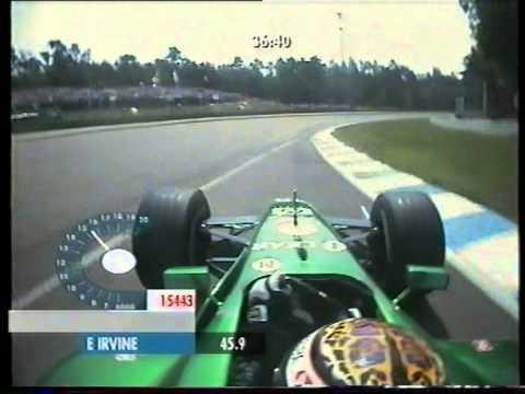 F1 Hockenheim 2001 Qualifying - Eddie Irvine Onboard