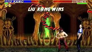 Mortal Kombat 3 - liu Kang (Sega Genesis) (By Sting)