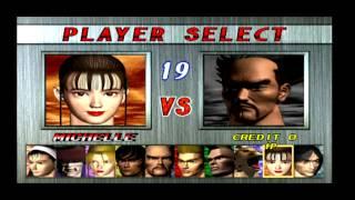 Tekken 2 PS1 gameplay