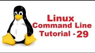 Linux Command Line Tutorial For Beginners 29 - find command