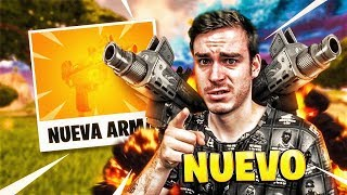 NUEVO ARMA *SUBFUSIL uzi* o MACHINE FUSIL EN FORTNITE BATTLE ROYALE