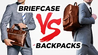 Briefcase VS Backpack (Which Bag Style Wins?)