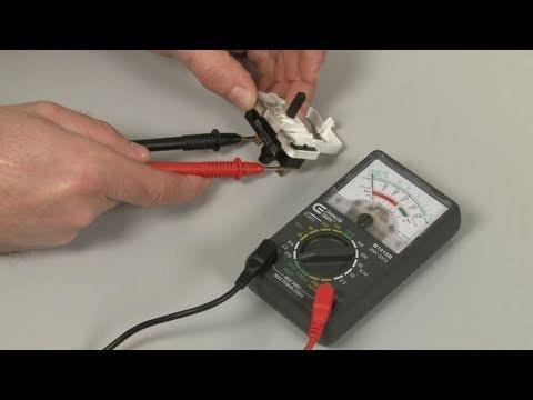 Ge Dryer Door Switch Wiring Diagram Nissan Xterra Radio Won T Start Two Terminal Testing Repair Youtube