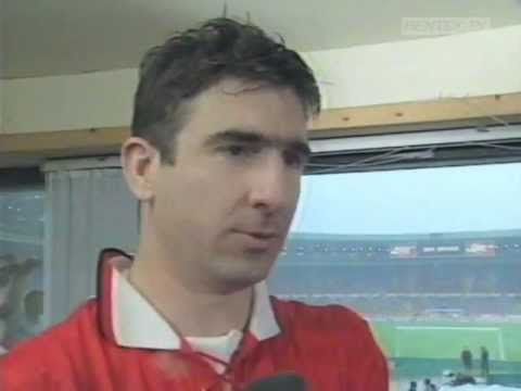 Eric Cantona's Cup Final 1994 (Build up, Goals + Interview)