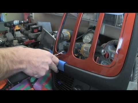 Amplified - Air Bagged Dodge Ram IPad Install. Custom Box JL Audio System EP 9
