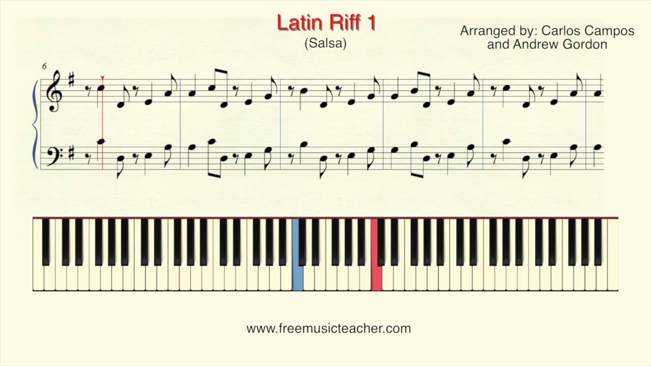 How to play piano latin riff 1 salsa piano tutorial by ramin how to play piano latin riff 1 salsa piano tutorial by ramin yousefi hexwebz Choice Image