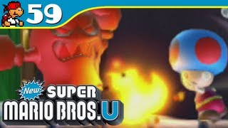 New Super Mario Bros. U - Spinning Spirit House - Meringue Clouds-Ghost - Episode 59 - KoopaKungFu