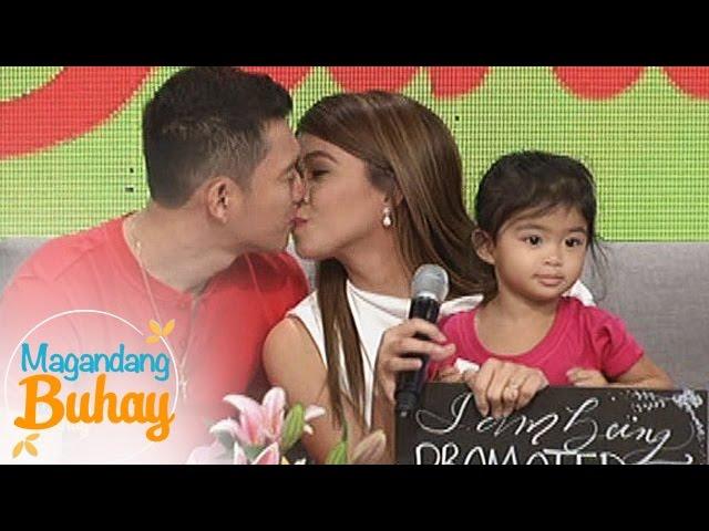 Magandang Buhay: Jason and Baby Mela visits Melai