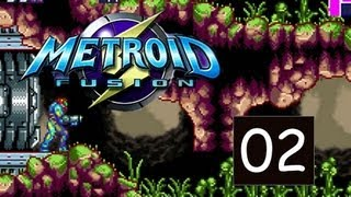 Metroid Fusion - Part 2 - Sector 1 SRX - (GBA/3DS)