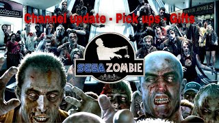 Sega wall - channel update - pick ups - Gifts - Sega Zombie