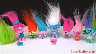 Dreamworks Trolls Blind Bags Series 2 Opening Toys Names Fun Toy Surprise Kids Names