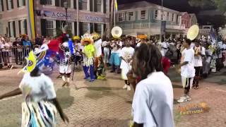 Summer Junkanoo Festival 2014 [B-Group Music Competition] - Fancy Dancers