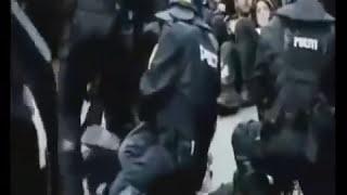 Жестокий разгон протестующих в Европе. Урок протестующим Майдана. 2014