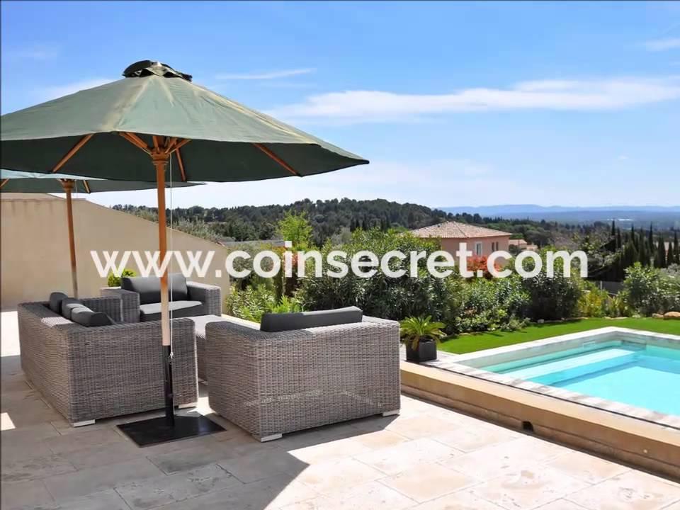 Saint saturnin les avignon location d 39 une villa de - Location vacances avec piscine privee ...