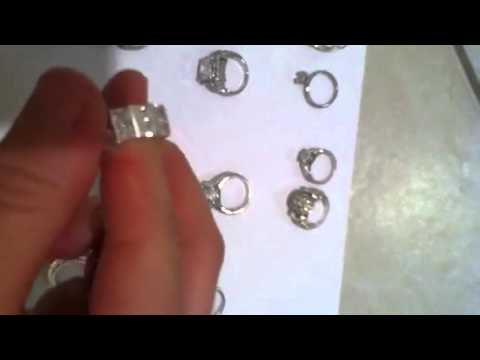 My Jewelry Collection Cubic Zirconia Rings pt 1