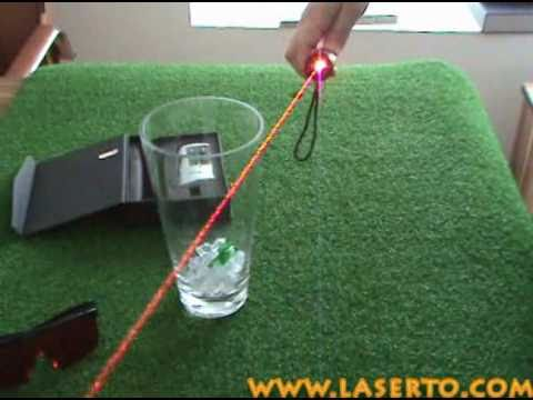how to make a red laser pointer stronger