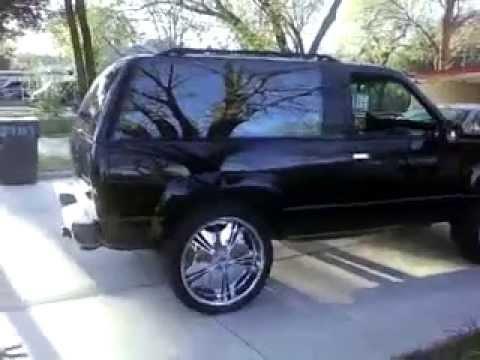1993 Chevy Blazer Youtube