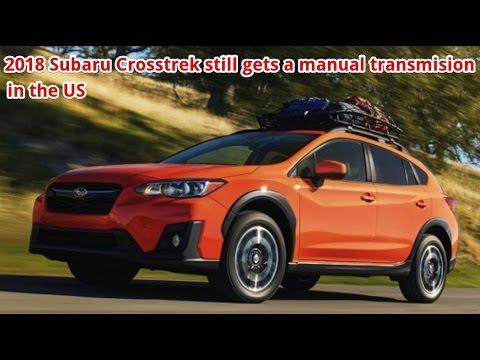 2018 subaru manual transmission. modren 2018 2018 subaru crosstrek still gets a manual transmission in the us  next  generation in subaru n