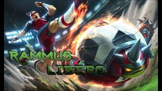 Skin Rammus libéro - League of legends [FR]