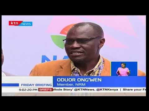NASA's NRM endows the programme to Raila Odinga's swearing in