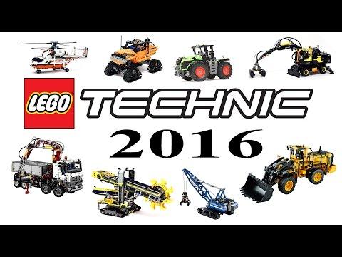 Lego Technic 2016 Сравнительный обзор наборов / Review of the catalog