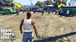 Что будет, если Сиджей захватит Грув Стрит в GTA 5?