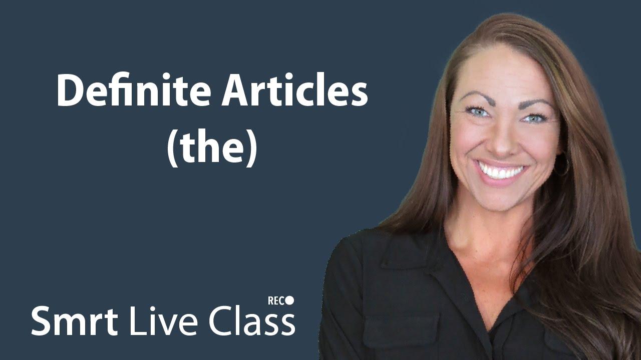 Definite Articles (the) - Pre-Intermediate English with Abby #42