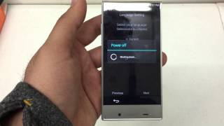How to Hard Reset The Sharp Aquos Crystal Boost Mobile Android 4.4 Remove Password