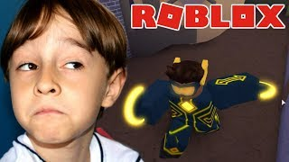 PLAYING the first phase of ROBLOX HEROES OF ROBLOXIA | PLAYING IN FAMILY