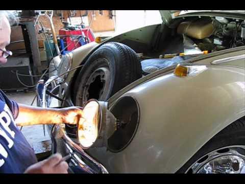 1971 Volkswagen Beetle Wiring Diagram Vw Bug 1964 Repairing The Head Lights Step One Youtube
