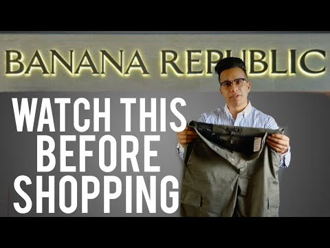Banana Republic Haul & Shopping Tips