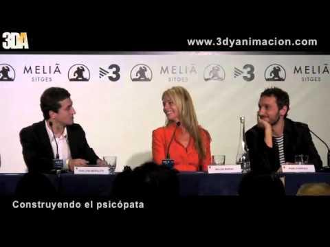 Presentación de 'Los Ojos de Julia' - SItges 2010 en 3DA