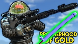 Fallout 4 - BROTHERHOOD of GOLD - Outcasts and Remnants Part 1