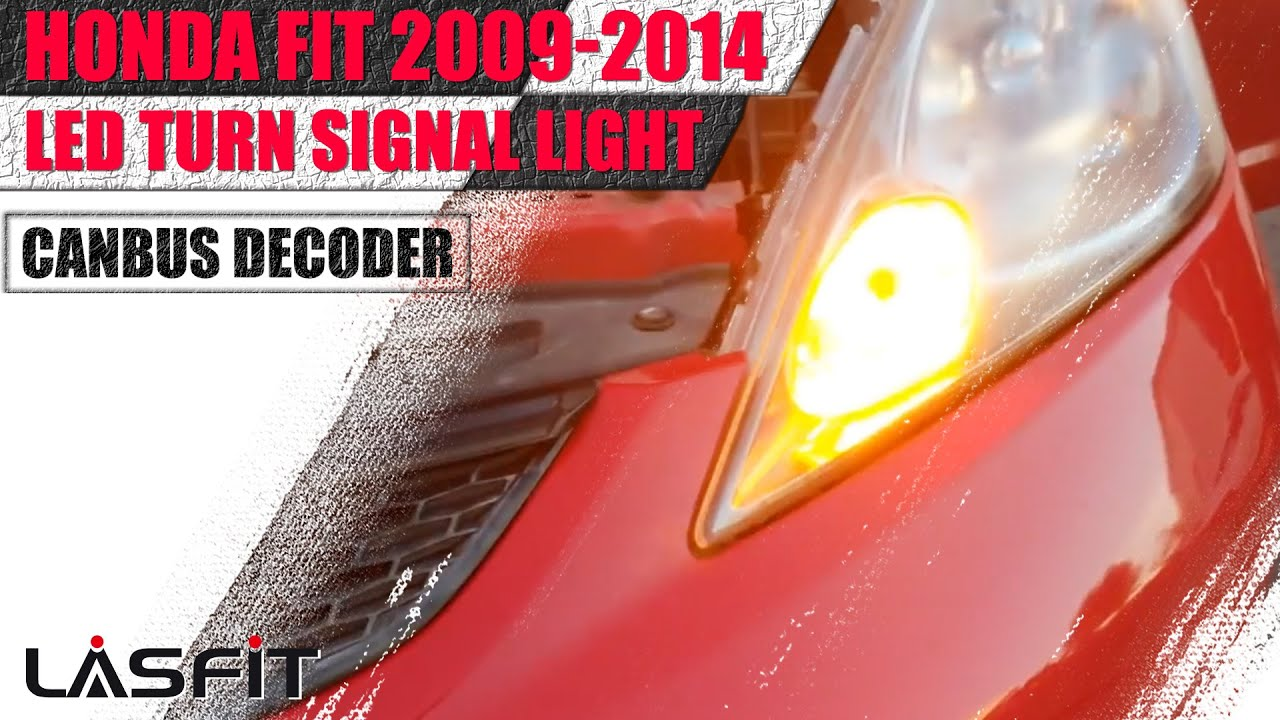 2009 Honda Fit Front Turn Signals How To Install Led Bulbs
